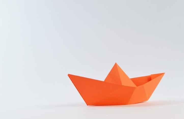 boat ship sailboat paper